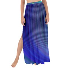 Space Design Abstract Sky Storm Maxi Chiffon Tie Up Sarong