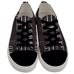 Graphics House Brick Brick Wall Men s Low Top Canvas Sneakers