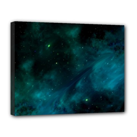 Space All Universe Cosmos Galaxy Canvas 14  X 11  by Nexatart