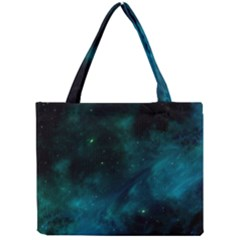 Space All Universe Cosmos Galaxy Mini Tote Bag by Nexatart