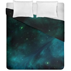 Space All Universe Cosmos Galaxy Duvet Cover Double Side (california King Size) by Nexatart