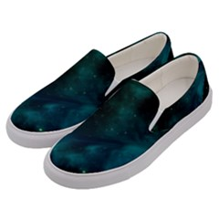 Space All Universe Cosmos Galaxy Men s Canvas Slip Ons by Nexatart