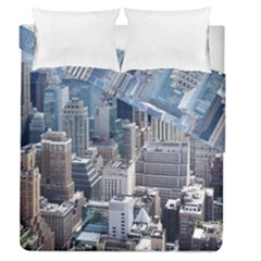 Manhattan New York City Duvet Cover Double Side (queen Size)