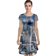 Manhattan New York City Cap Sleeve Nightdress