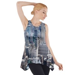 Manhattan New York City Side Drop Tank Tunic