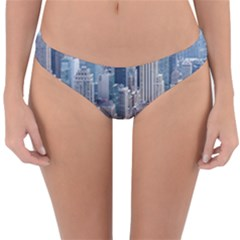 Manhattan New York City Reversible Hipster Bikini Bottoms