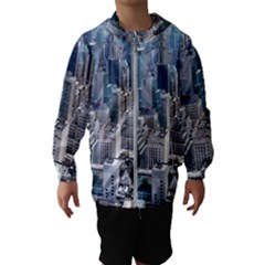 Manhattan New York City Hooded Wind Breaker (kids)