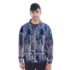 Manhattan New York City Wind Breaker (men)
