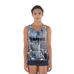 Manhattan New York City Sport Tank Top
