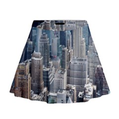 Manhattan New York City Mini Flare Skirt