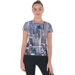 Manhattan New York City Short Sleeve Sports Top