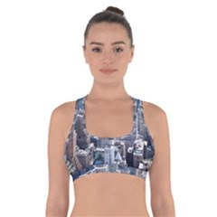 Manhattan New York City Cross Back Sports Bra
