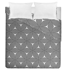Seamless Weave Ribbon Hexagonal Duvet Cover Double Side (queen Size)
