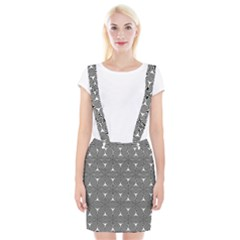 Seamless Weave Ribbon Hexagonal Braces Suspender Skirt