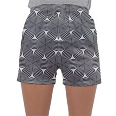 Seamless Weave Ribbon Hexagonal Sleepwear Shorts