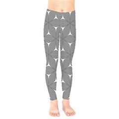 Seamless Weave Ribbon Hexagonal Kids  Legging