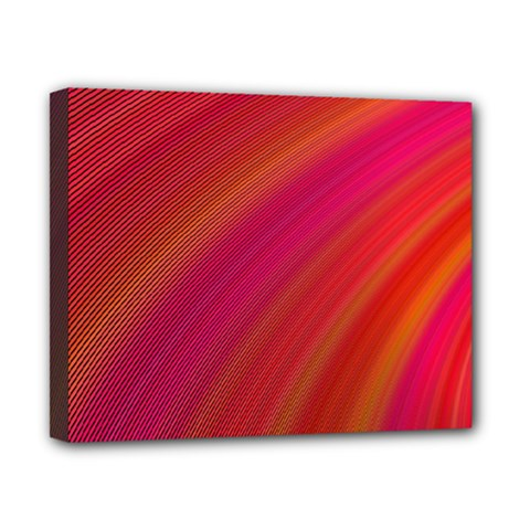 Abstract Red Background Fractal Canvas 10  X 8