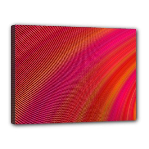 Abstract Red Background Fractal Canvas 16  X 12