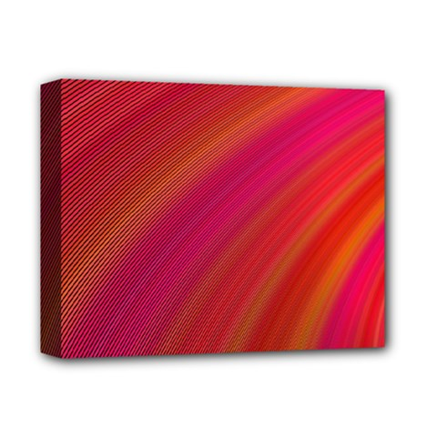 Abstract Red Background Fractal Deluxe Canvas 14  X 11