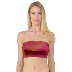 Abstract Red Background Fractal Bandeau Top