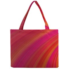 Abstract Red Background Fractal Mini Tote Bag