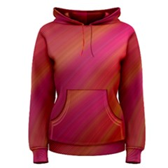 Abstract Red Background Fractal Women s Pullover Hoodie