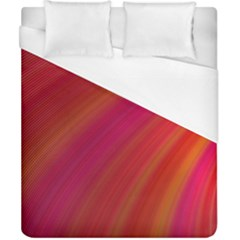Abstract Red Background Fractal Duvet Cover (california King Size)