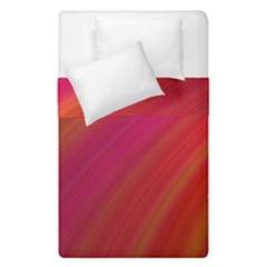 Abstract Red Background Fractal Duvet Cover Double Side (single Size)