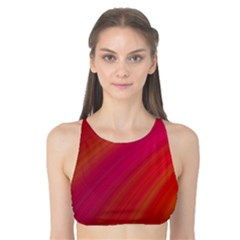 Abstract Red Background Fractal Tank Bikini Top