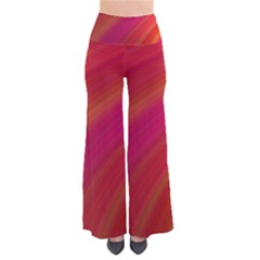 Abstract Red Background Fractal Pants
