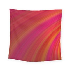 Abstract Red Background Fractal Square Tapestry (small)