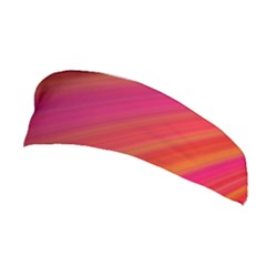 Abstract Red Background Fractal Stretchable Headband