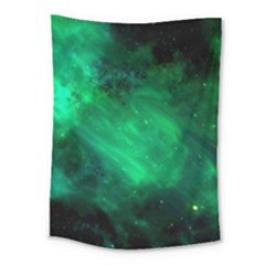 Green Space All Universe Cosmos Galaxy Medium Tapestry by Nexatart