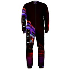 Moscow Night Lights Evening City Onepiece Jumpsuit (men)