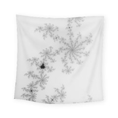Mandelbrot Apple Males Mathematics Square Tapestry (small) by Nexatart
