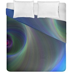 Gloom Background Abstract Dim Duvet Cover Double Side (california King Size) by Nexatart