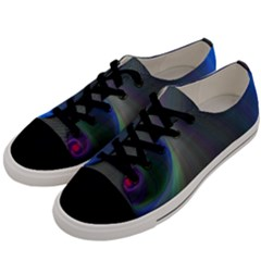 Gloom Background Abstract Dim Men s Low Top Canvas Sneakers by Nexatart