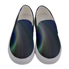Gloom Background Abstract Dim Women s Canvas Slip Ons