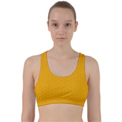 Texture Background Pattern Back Weave Sports Bra