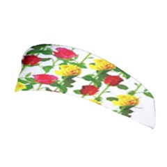 Rose Pattern Roses Background Image Stretchable Headband by Nexatart
