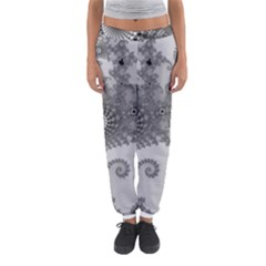Apple Males Mandelbrot Abstract Women s Jogger Sweatpants by Nexatart