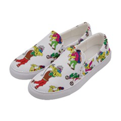 Golfers Athletes Women s Canvas Slip Ons by Nexatart