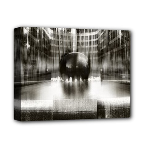 Black And White Hdr Spreebogen Deluxe Canvas 14  X 11  by Nexatart