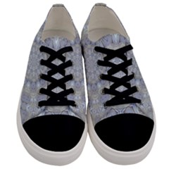 Flower Lace In Decorative Style Men s Low Top Canvas Sneakers