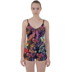 To Infinity And Beyond Tie Front Two Piece Tankini