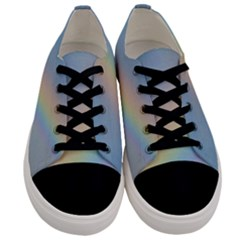 Rainbow Photography Men s Low Top Canvas Sneakers