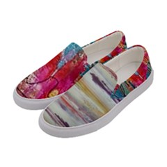 Imagesart Li Photo 27 06 2017, 8 10 22 Am Cara Azul Women s Canvas Slip Ons by MaryIllustrations
