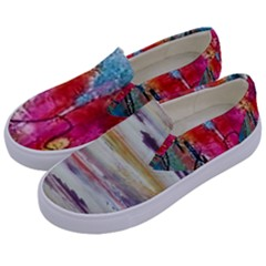 Imagesart Li Photo 27 06 2017, 8 10 22 Am Cara Azul Kids  Canvas Slip Ons by MaryIllustrations