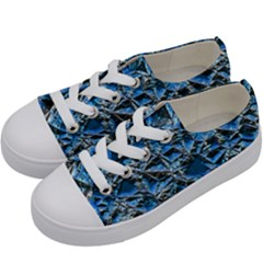 Jagged Stone 2c Kids  Low Top Canvas Sneakers by MoreColorsinLife