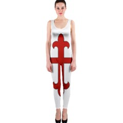 Crusader Cross Onepiece Catsuit